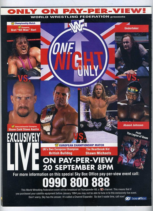 One Night Only - Wrestling