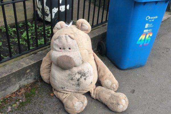 Discarded teddy