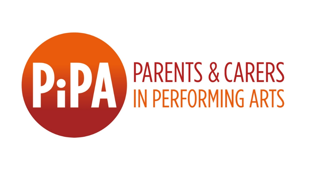 The logo for PiPA: Parents and Carers in Performing Arts