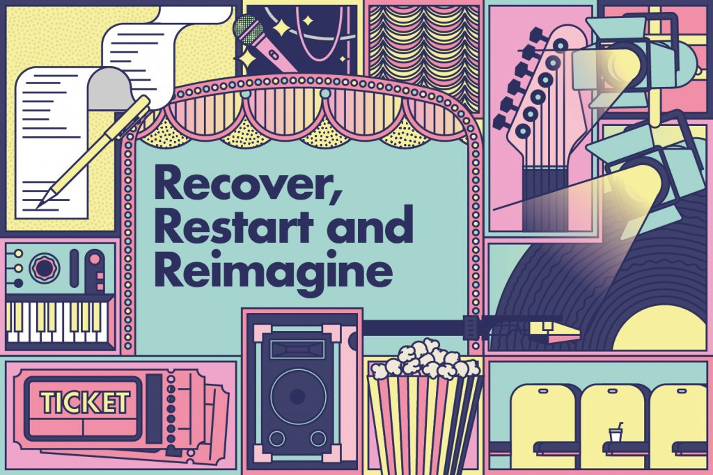 Recover Restart Reimagine Artwork